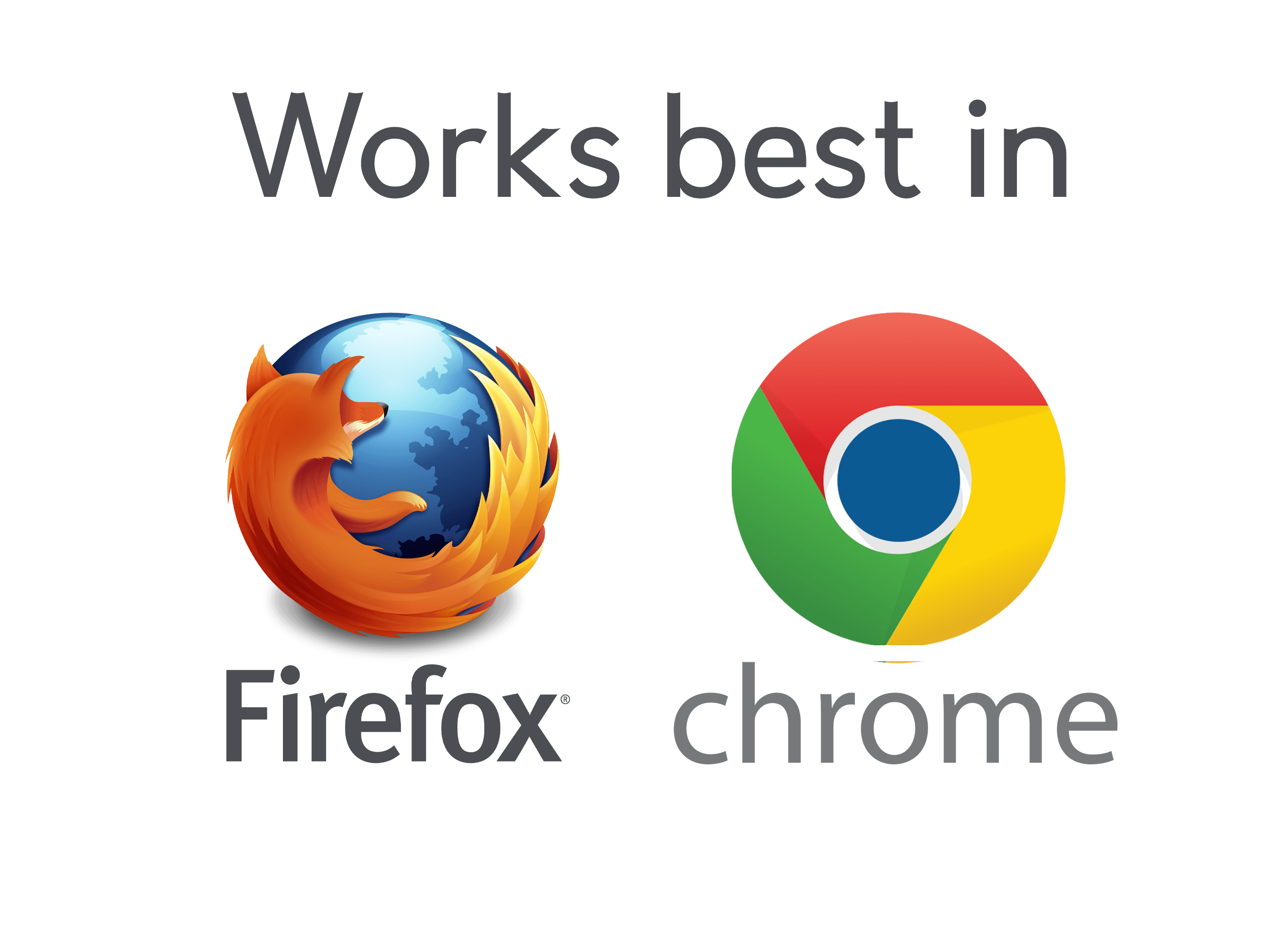 This site works best with Mozilla Firefox or Google Chrome browers